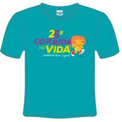 Camiseta 25ª Corrida pela Vida