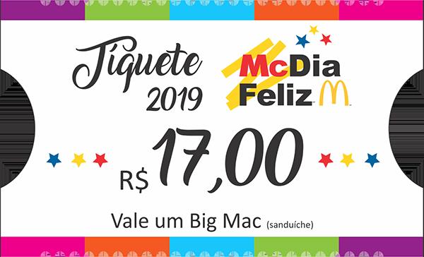 Tíquete McDia Feliz